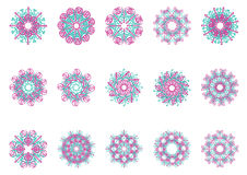 Decorative floral pattern motif Stock Photo