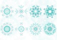 Decorative floral pattern motif Stock Photos