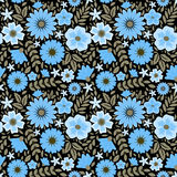 Decorative floral pattern Stock Photo