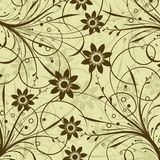 Decorative floral pattern, vector Stock Photo