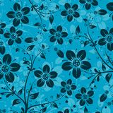 Decorative floral pattern, vector Royalty Free Stock Photo