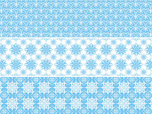 Decorative floral pattern, vector Royalty Free Stock Photos
