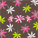 Decorative floral pattern, wallpaper Stock Photography