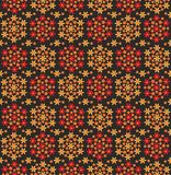 Decorative floral rug Stock Photo