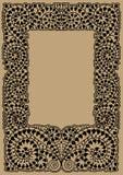 Decorative floral scope Stock Image