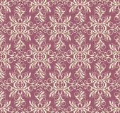Decorative floral seamless background Royalty Free Stock Image