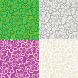 Decorative floral seamless background Royalty Free Stock Photography