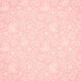 Decorative floral seamless pattern Royalty Free Stock Photos