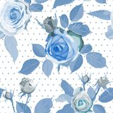 Decorative Floral Seamless Pattern. Stock Images