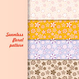 Decorative floral. Seamless pattern for paper and design Royalty Free Illustration