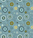 Decorative floral seamless pattern Stock Photography