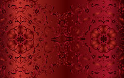 Decorative floral wallpaper Royalty Free Stock Photos