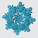 Decorative flourish design. Abstract art Royalty Free Stock Photo