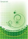 Decorative flourishe design Royalty Free Stock Image