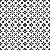 Decorative flower black and white seamless repeated geometric flower pattern background. Textile, books,str. Seamless,geometric repeated,printing,bed sheet royalty free illustration