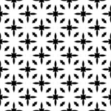 Decorative flower black and white seamless repeated geometric flower pattern background. Textile, books,str. Seamless,geometric repeated,printing,bed sheet vector illustration