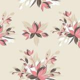 Decorative flower pattern Royalty Free Stock Photos