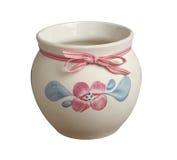 Decorative flower pot Stock Photography