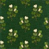 Decorative flower seamless pattern background Stock Image