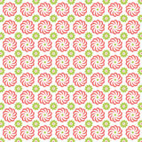 Decorative Flower Shape Pattern Royalty Free Stock Photography