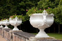 Decorative flowerpots Stock Photos