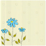 Decorative flowers. Abstract background with decorative flowers Royalty Free Stock Photos