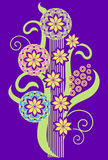Decorative flowers Stock Photography