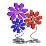 Decorative flowers Royalty Free Stock Image