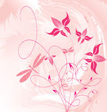Decorative flowers vector illustration