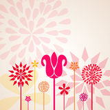 Decorative Flowers Royalty Free Stock Photography