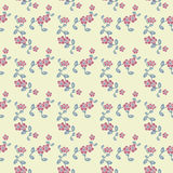 Decorative flowers pattern Stock Photography