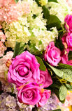 Decorative flowers for wedding Stock Photo