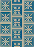 Decorative flowery wallpaper stock photo