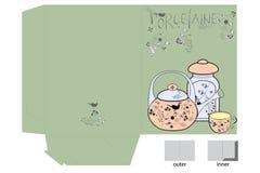 Decorative folder royalty free stock image
