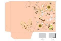 Decorative folder Stock Images