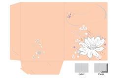 Decorative folder Royalty Free Stock Photos