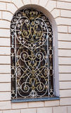 Ornate Window Security Bars Stock Image - Image: 32572251