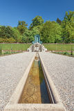 Decorative fountain in the garden of palace Het Loo Royalty Free Stock Photography