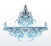 Decorative fountain shape Stock Image