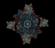 Decorative Fractal Royalty Free Stock Images