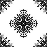 Decorative fractal in arabic or muslim style Royalty Free Stock Photo