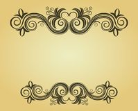 Decorative frame Royalty Free Stock Photos