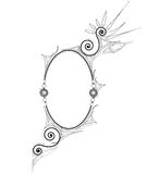 Decorative Frame. Ornamental Frame with Swirls (vector Stock Photography