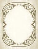 Decorative frame. On vintge style Royalty Free Stock Image