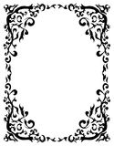 Decorative frame. The vector image of a decorative framework Royalty Free Stock Image