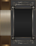 Decorative frame. Royalty Free Stock Image
