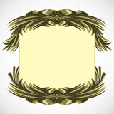 Decorative frame. Royalty Free Stock Photo