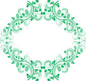Decorative frame. Clip art illustration Royalty Free Stock Images