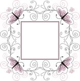 Decorative frame Stock Photography