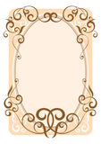 Decorative frame. Decorative ornament frame, vector illustration Stock Photography